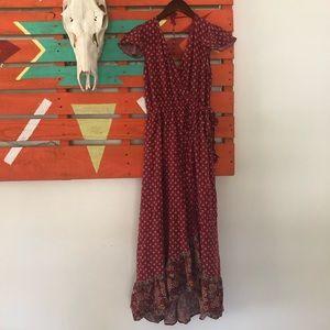 Dresses & Skirts - Bohemian Wrap Maxi Dress
